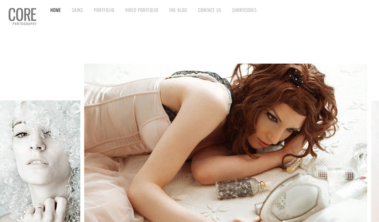 Core - Best Photography WordPress Theme 2014