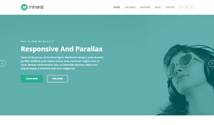 Mineral - Best Responsive WordPress Theme 2014