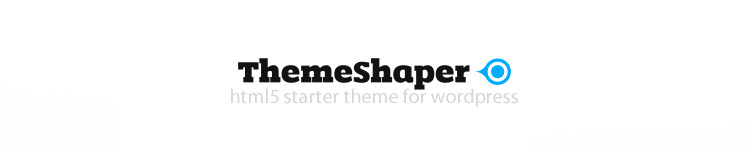 ThemeShaper - Best HTML5 Starter WordPress Theme 2013