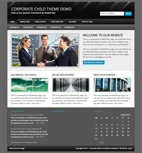 Corporate Premium WordPress Theme