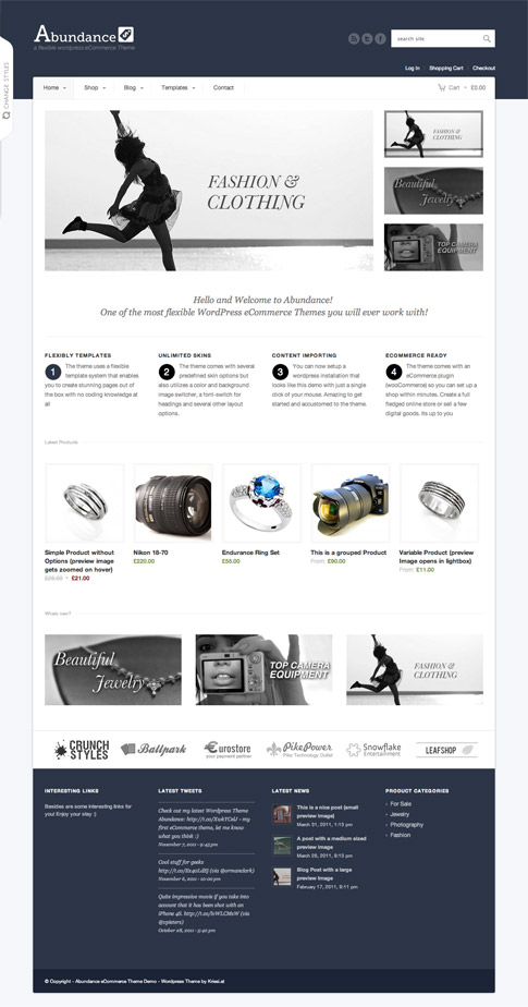 Abundance Premium WordPress Theme