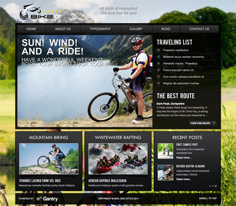 BikeIT Premium WordPress Theme