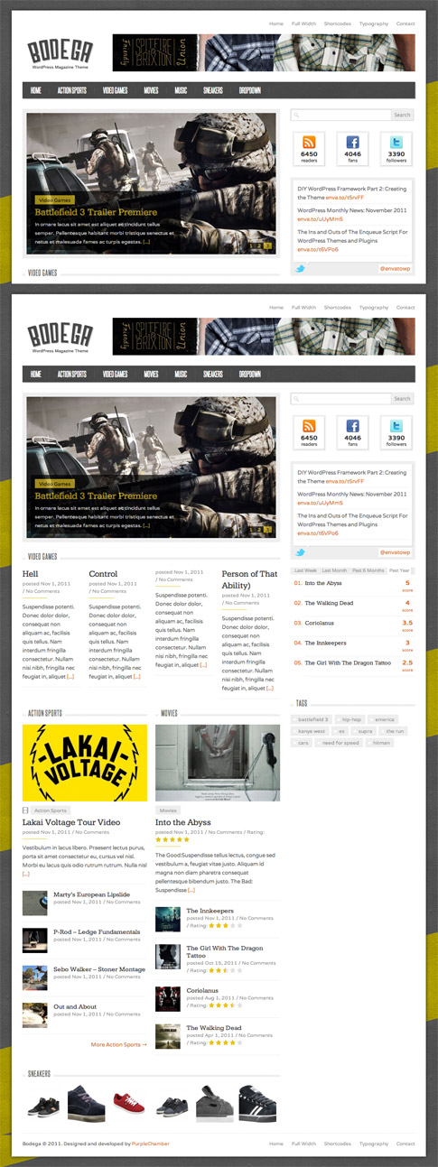 Bodega Premium WordPress Theme