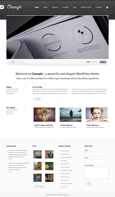 Cleanple Premium WordPress Theme