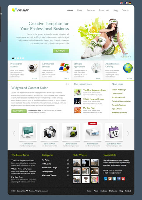Creator Premium WordPress Theme