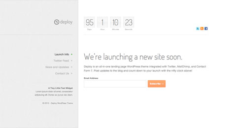 Deploy Premium WordPress Theme
