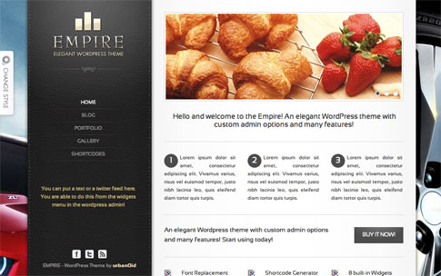 Empire Premium WordPress Theme