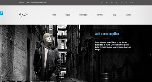 Epic Premium WordPress Theme
