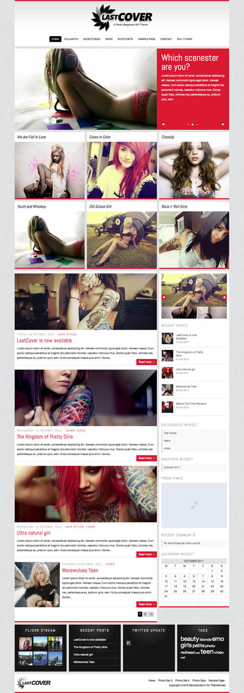 LastCover Premium WordPress Theme