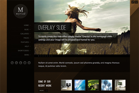 Myriad Premium WordPress Theme