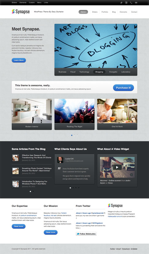 Synapse Premium WordPress Theme