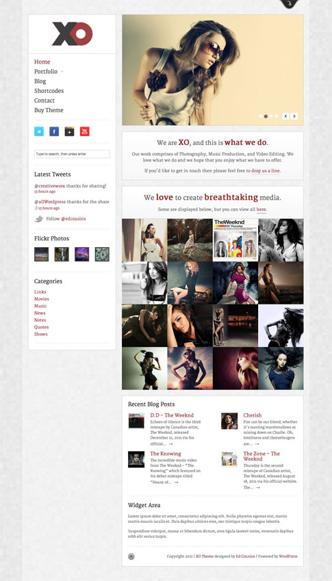 XO Premium WordPress Theme