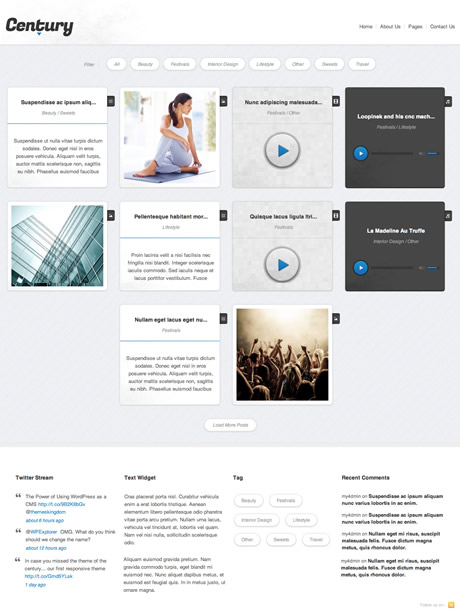 Century Premium WordPress Theme