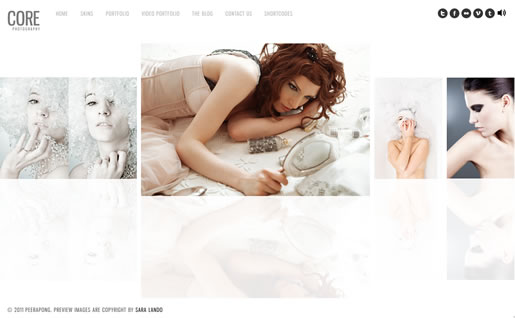 Core - Best Photography WordPress Theme 2012