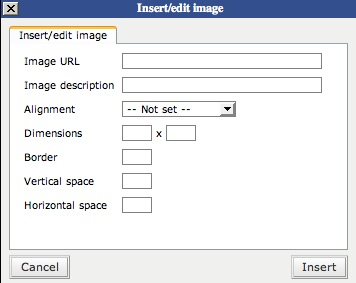 WordPress Insert Image