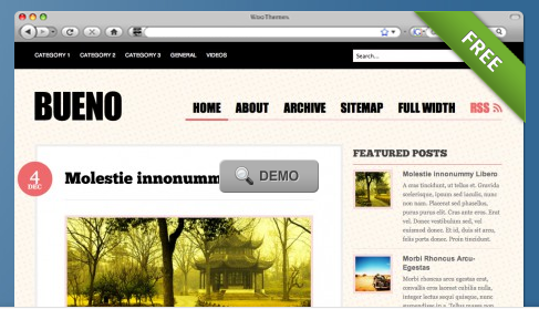 Best Wordpress Themes of 2010 (Updated Monthly)