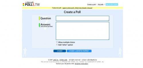 http://polls.tw/