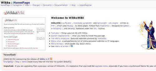 http://wikkawiki.org/HomePage