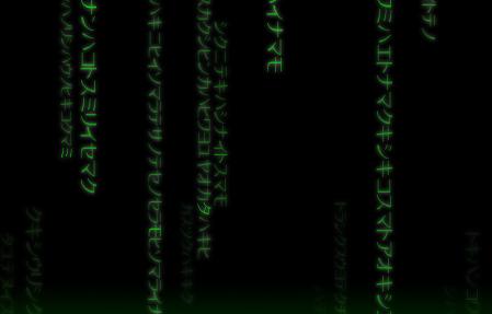 CSS3 Matrix Effect