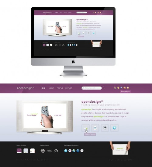 Opendesign_Website_by_ejsing