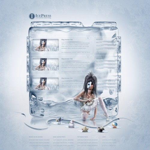 WordPress___IcePress_Theme_by_detrans