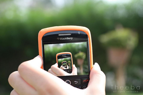 blackberry ad OrangeBerry~