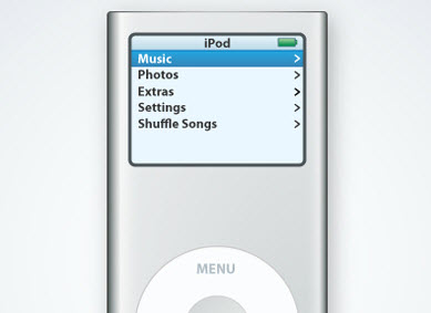 iPod Nano Illustration