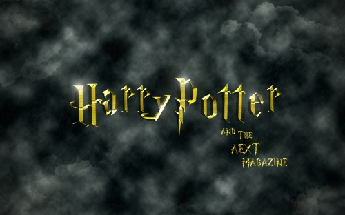 Harry Potter Final Image Gold Gradient - Click to Enlarge
