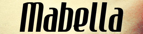 Mabella Italic Font