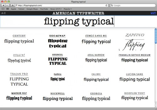Flipping-Typical