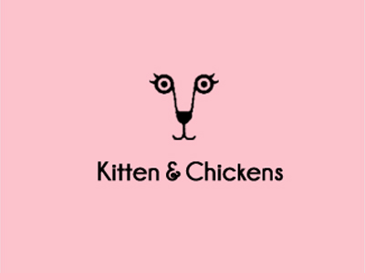 kitten-and-chickens