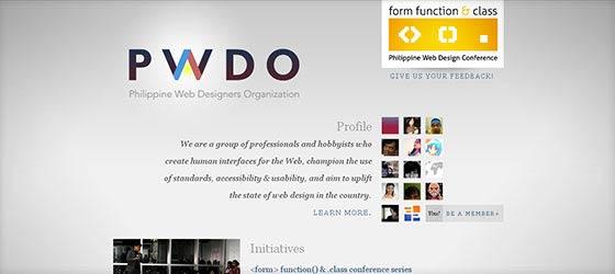 Creative Single Page Web Designs