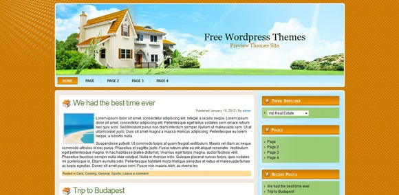 WP-Real-Estate-Wordpress-Theme