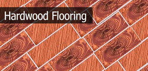 How to create hardwood flooring with wood texture bricks.