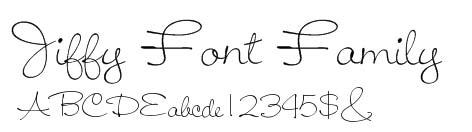 Jiffy Font Family