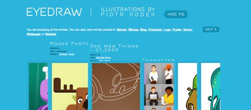 eyedraw.eu - Awesome Kwicks Menu jQuery