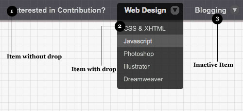 Incredible Drop Down Menu With CSS Only