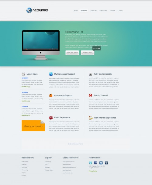 35 Fresh and Cool Web Design Interfaces for Inspiration