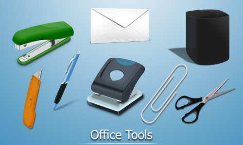 20 free office stuff icon sets for your design for Free online office design tool