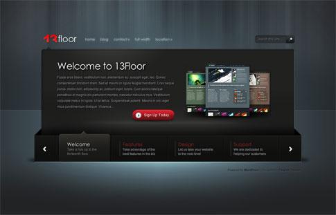 13floor premium wordpress theme review for 13 floor theme