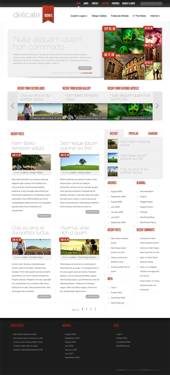 DelicateNews Premium WordPress Theme