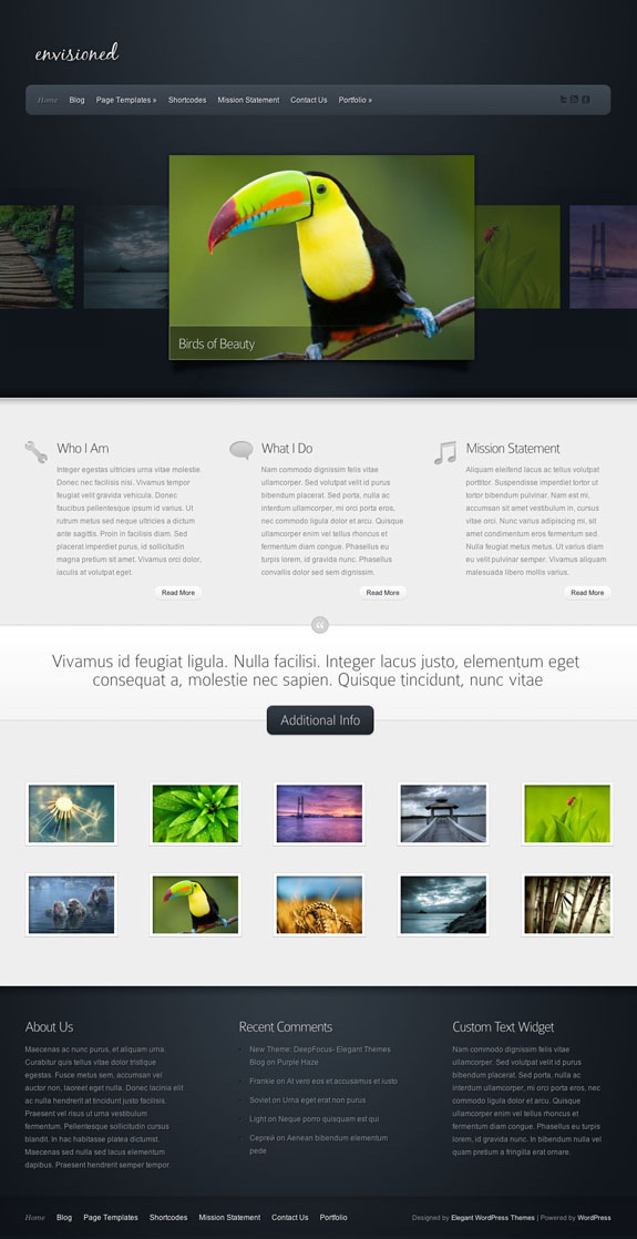 Envisioned Premium WordPress Theme