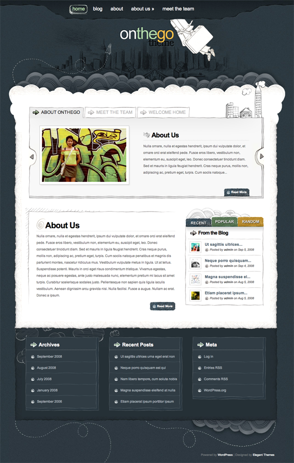 OnTheGo Premium WordPress Theme