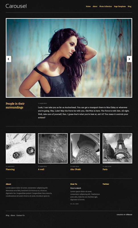 Carousel Premium WordPress Theme