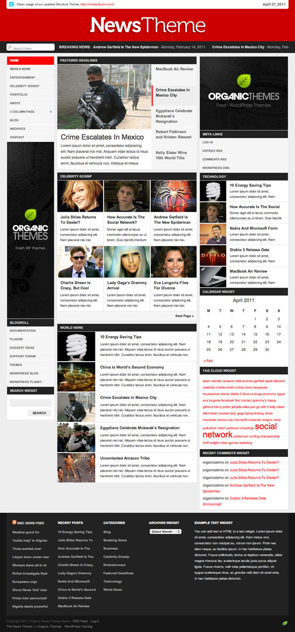 News Theme Premium WordPress Theme