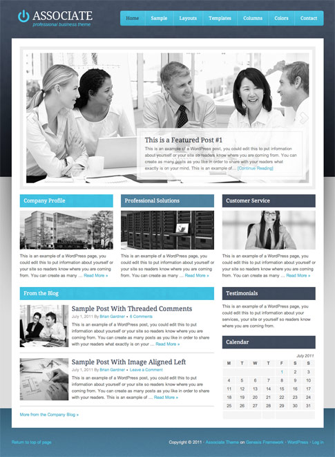 Associate Premium WordPress Theme