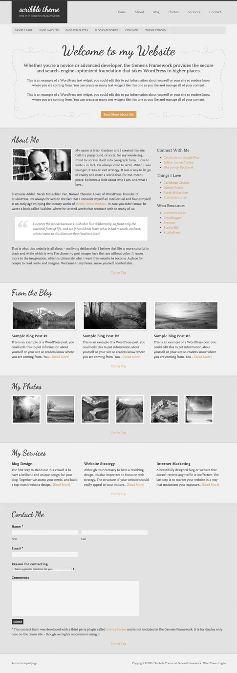 Scribble Premium WordPress Theme