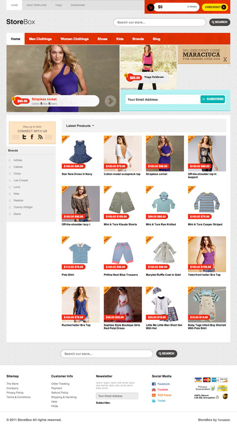 StoreBox Premium WordPress Theme