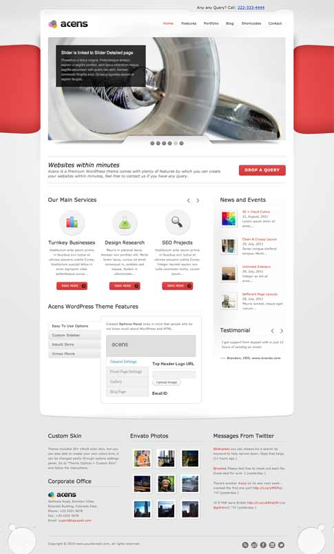Acens Premium WordPress Theme