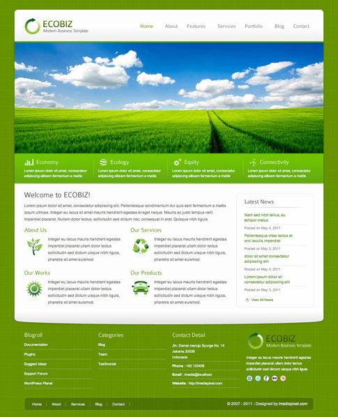 ECOBIZ Premium WordPress Theme